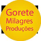 Site da atriz Gorete Milagres